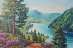 Lac de Longemer in den Vogesen
