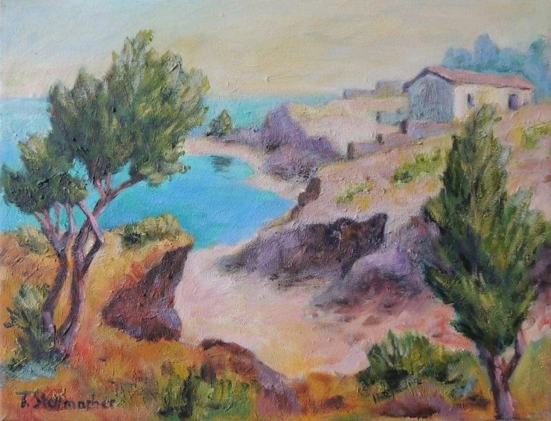 Bucht auf Kreta