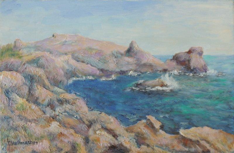 Rauhe Küste auf Kreta