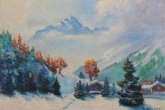 Lechtal im Winter