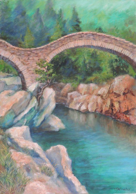 Römerbrücke im Verzascatal