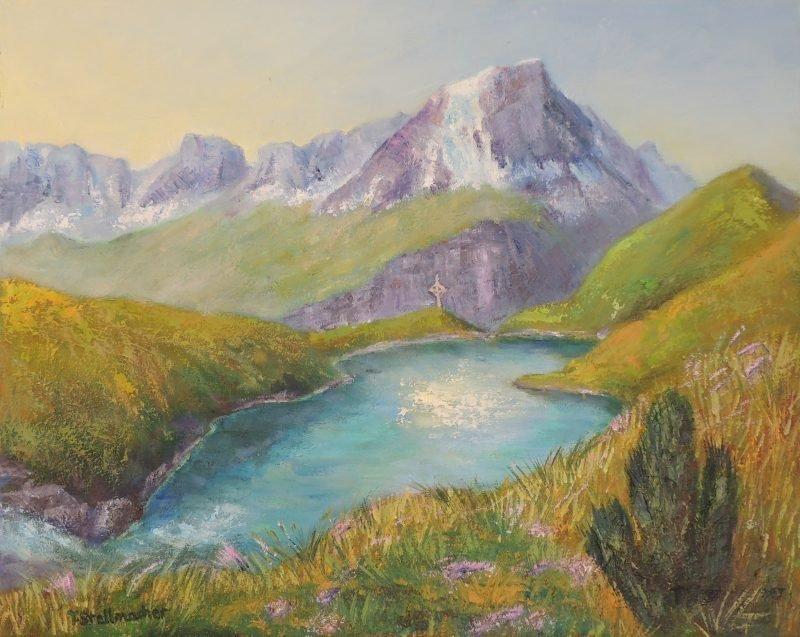 See im Wallis bei Zinal