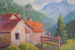 Einzelne Häuser im Tessin