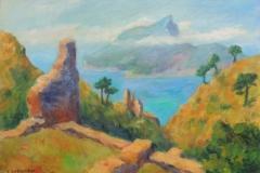 Blick auf die Insel Dragonera
