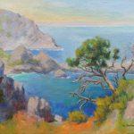 Costa Brava auf Mallorca Acryl auf Leinwand 50x70 cm